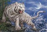■450スモールピースジグソーパズル:西方白虎(原井加代美)《廃番商品》