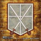 ■ミニパズル100ピース:進撃の巨人 訓練兵団紋章《廃番商品》