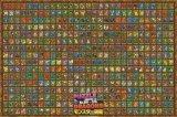 ■1000ピースジグソーパズル:PUZZLE&DRAGONS モンスター図鑑Ver.5.0《廃番商品》