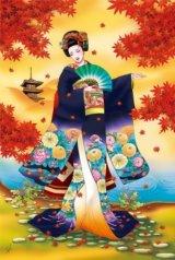 【引上品】■1000ピースジグソーパズル:恋紅葉《廃番商品》