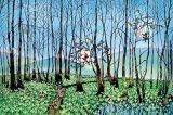 ■1000ピースジグソーパズル:湿原のミズバショウとこびと(藤城清治)