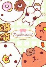 ◆希少品◆ミニパズル150ピース:カピバラさん お菓子B《廃番商品》