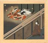 ■パネル付き168ピースジグソーパズル:夏の夜の戯れ(源氏物語)《カタログ落ち商品》