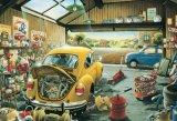 【取寄商品】★35%off★300ピースジグソーパズル:サムおじさんの修理工場(溪川弘行)