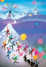 【取寄商品】■300ピースジグソーパズル:ラベンダー畑の夢(藤城清治)