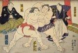 ★32%off★300ピースジグソーパズル:大相撲 錦絵「取組の図」