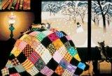 【取寄商品】■300ピースジグソーパズル:こたつと猫(藤城清治)