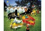 ■300ピースジグソーパズル:3台のピアノ ノスタルジア(藤城清治)
