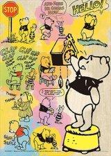 ★32%off★300スモールピースジグソーパズル:コミックアート・ウィニー・ザ・プー(木製パズル)