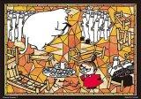 ★33%off★プリズムアート108ピースジグソーパズル:ムーミン ニョロニョロのベッド