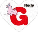 ■ミニパズルハート68ピース:Rody G《廃番商品》