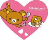 ◆希少品◆ミニパズルハート68ピース:リラックマ ホットケーキ《廃番商品》