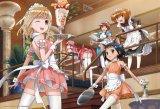 ◆希少品◆300ピースジグソーパズル:咲-Saki- メイド雀荘へようこそ!《廃番商品》
