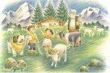 ■108ピースジグソーパズル:アルプスの少女ハイジ アルムの山小屋《廃番商品》