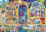 ★3割引!!★108ピースジグソーパズル:ディズニーオールキャラクタードリーム〈ホログラムジグソー〉