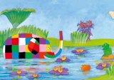 【引上品】◆希少品◆300マイクロピースジグソーパズル:こんにちは(エルマー)《廃番商品》