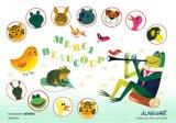 ◆希少品◆300マイクロピースジグソーパズル:ありがとう(アラン・グレ)《廃番商品》