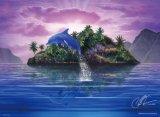 ◆希少品◆1000スモールピースジグソーパズル:シークレット アイランド(CRラッセン)《廃番商品》