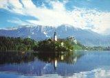 ■759スモールピースジグソーパズル:湖に浮かぶ聖マリア教会-スロベニア《廃番商品》