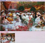 ■1000ピースジグソーパズル:ホテルリッツの夕食(ピエールジョルジュ)《廃番商品》