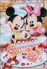 ★31%off★プチパズル204ピース:ディズニー ベリーベリー・ロールケーキ