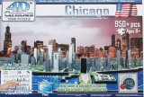 4D CITY SCAPE TIME PUZZLE Chicago/シカゴ〈輸入パズル〉