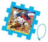 ■パネル付き25ピースクミパネジグソーパズル:ハローキティ トレジャー《廃番商品》