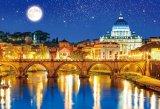 【取寄商品】★35%off★1000マイクロピースジグソーパズル:星空のサン・ピエトロ大聖堂