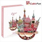 3Dパズル City Scape モスクワ