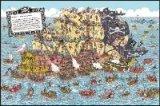 ◆希少品◆500ピースジグソーパズル:ウォーリー Pirate Panorama《廃番商品》