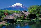 ★32%off★108ラージピースジグソーパズル:忍野村より富士(山梨)