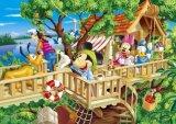 ◆希少品◆300スモールピースジグソーパズル:ツリーハウスへようこそ(ディズニー)(木製パズル)《廃番商品》