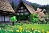 ■300ピースジグソーパズル:シンプルスタイル 彩りの白川郷《廃番商品》