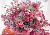 ◆希少品◆500ピースジグソーパズル:ピンク・フローラル《廃番商品》