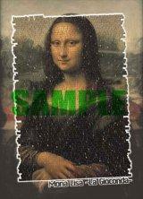 【引上品】◆希少品◆500ピースジグソーパズル:ワードアートパズル・モナリザ《廃番商品》