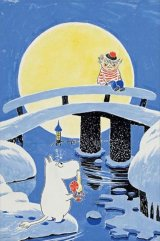 ■1000ピースジグソーパズル:ムーミンとおしゃまさん -「ムーミン谷の冬」より-