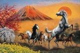 ■1000ピースジグソーパズル:冨嶽翔馬(梶田達二)《廃番商品》