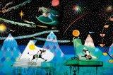 ★26%off★1000ピースジグソーパズル:星空の木馬の夢(藤城清治)