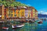 ◆希少品◆1000ピースジグソーパズル:ポルトフィーノの休日(サムパーク)《廃番商品》