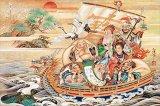 【取寄商品】★31%off★1000ピースジグソーパズル:蓬莱宝船(竹内白雅)