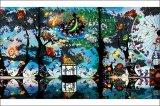 ★26%off★1000ピースジグソーパズル:魔法の森に燃える再生の炎(藤城清治)