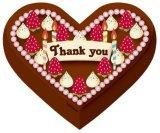 ◆希少品◆プチパズルハート51ピース:チョコケーキ《廃番商品》