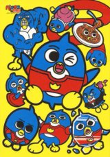 ◆希少品◆108ラージピースジグソーパズル:ペンギンの問題 ペンギンだらけ《廃番商品》