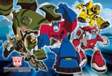 【引上品】◆希少品◆108ラージピースジグソーパズル:オートボット出動!!《廃番商品》