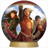 3D球体60ピース:ナルニア国物語 ライオンと魔女《廃番商品》