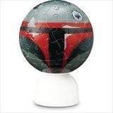 3D球体60ピース:パズランタン 「ツムツム」-ボバ・フェット-(3色発光)《廃番商品》