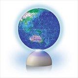 3D球体240ピース:スターライトパズル-BLUE EARTH-回転型地球儀パズル-《廃番商品》