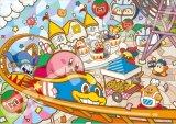 ■アートクリスタル208スモールピースジグソーパズル:星のカービィ プププパーク、オープン!