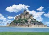 ◆希少品◆3000スモールピースジグソーパズル:モン・サン・ミッシェルとその湾IV[フランス]《廃番商品》