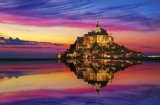 ■3000スモールピースジグソーパズル:モン・サン・ミシェルとその湾VII[フランス]《廃番商品》